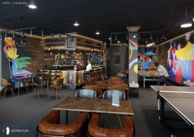 Le Zinzou Bar – Transformation